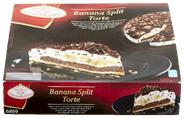 Coppenrath & Wiese Banana splittaart 1,2 kg