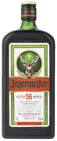 Jägermeister vierkant 1 liter