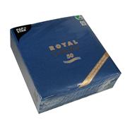 Papstar 11605 Tissuepapier Blauw 50stuk(s) papieren servetten