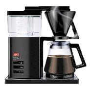Melitta Aroma signature DeLuxe Koffiezetapparaat zwart