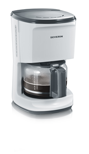 Severin KA 4489 Koffiezetapparaat 'start' wit