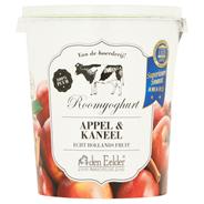 Den Eelder Roomyoghurt appel & kaneel 400 gram