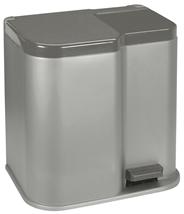 Curver Duo Pedaalemmer 14 + 7 liter grijs