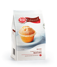 HomeMade Professional Complete mix voor muffins 1 kg