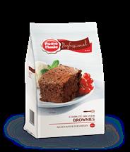 HomeMade Professional Complete mix voor brownies 1 kg