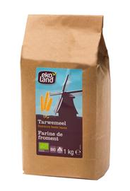 Ekoland Tarwemeel bruin 1 kg
