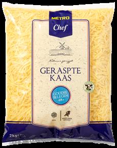 Metro Chef Goudse kaas Belegen 48+ grof geraspt 2 kg