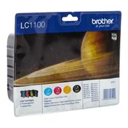 Brother LC-1100VALBP Black, Cyan, Magenta, Yellow ink cartridge