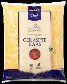 Metro Chef Goudse kaas Oud 48+ grof geraspt 2 kg