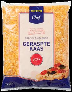Metro Chef Geraspte kaas Pizza 2 kg