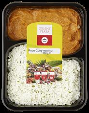 Orient Plaza Rode curry met rijst 500 gram