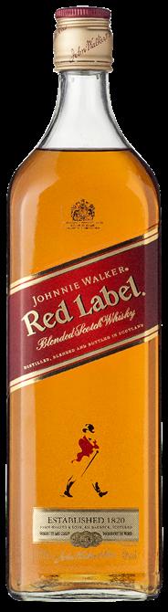 Johnnie Walker Red label 6 x 1 liter