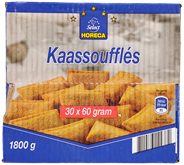 Horeca Select Kaassoufflé 30 x 60 gram