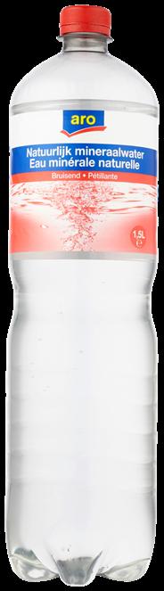 Aro Mineraalwater koolzuurhoudend 1,5 liter