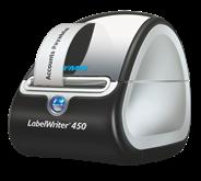 Dymo Labelwriter 450 + 3 rollen etiketten