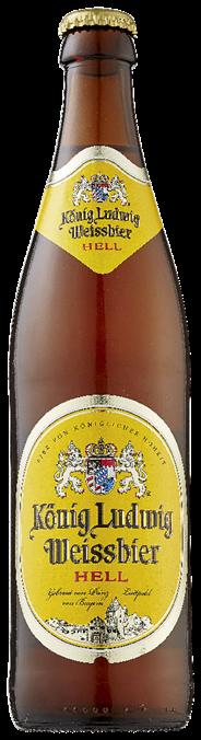 König Ludwig Weissbier fles 24 x 500 ml