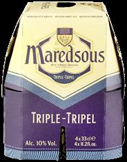Maredsous Tripel fles 6 x 4 x 330 ml