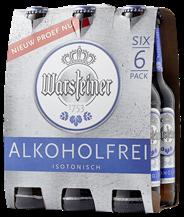 Warsteiner Premium alkoholfrei fles 4 x 6 x 330 ml
