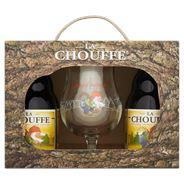 La Chouffe Geschenkverpakking 6 x 4 x 33 cl + glas
