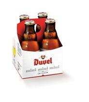 Duvel Mini fles 4 x 180 ml