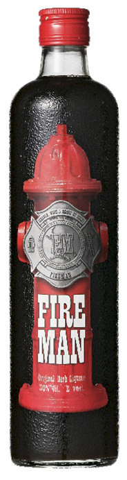 Fireman Refreshing Herb Liquor 70 cl