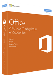 Microsoft Office Home & Student 2016 1 gebruiker