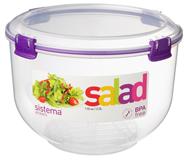 Sistema Accent Vershouder voor salade 3,5 liter assorti