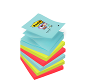 Post-it Super sticky z-notes Miami 76 x 76 mm 6 blokken