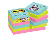 Post-it Super sticky notes Miami 47 x 47 mm 12 blokken