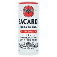 Bacardi Rum & Cola 24 x 250 ml