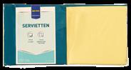 Metro Professional Servetten 24 cm 3-laags geel 250 stuks