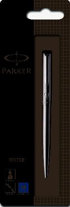 Parker Vector Balpen staal