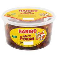 Haribo Cheeky foxes 150 stuks