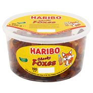 Haribo Cheeky Foxes 150 Pièces 1200 g