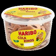 Haribo Cola rings 150 stuks