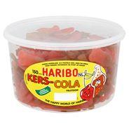 Haribo Kers-Cola Fruitgom 150 Pièces 1350 g