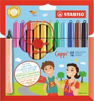 Stabilo Cappi Multi kleuren 12stuk(s) viltstift
