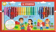 Stabilo Cappi Viltstiften 24 stuks