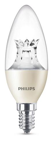 Philips LED kaarslamp dimbaar 25W E14