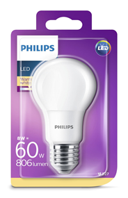 Philips LED lamp 60W E27