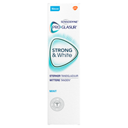 Sensodyne ProGlasur Strong & white mint Tandpasta 75 ml