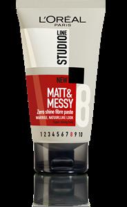 L'Oréal Paris Studio line Matt & messy zero shine fibre paste 150 ml