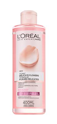 L'Oréal Paris Skin expert Delicate flowers Zachte tonic 400 ml