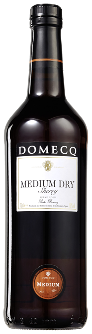 Domecq Sherry Medium dry 6 x 750 ml