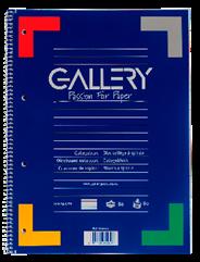 Gallery Collegeblok A4 gelinieerd 80 vel