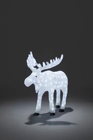 Konstsmide LED Acryl eland buiten 136 LED's 65 cm
