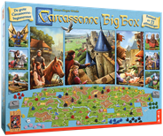 999 Games Carcassonne Big box 3 bordspel
