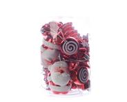 Kaemingk  Hangers plastic rood/wit 12 stuks