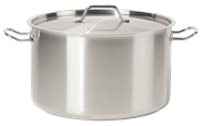 Metro Professional Kookpan hoog RVS 16 cm 2,5 liter