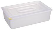 Metro Professional Gastronormbak + deksel polypropyleen 1/1 150 mm